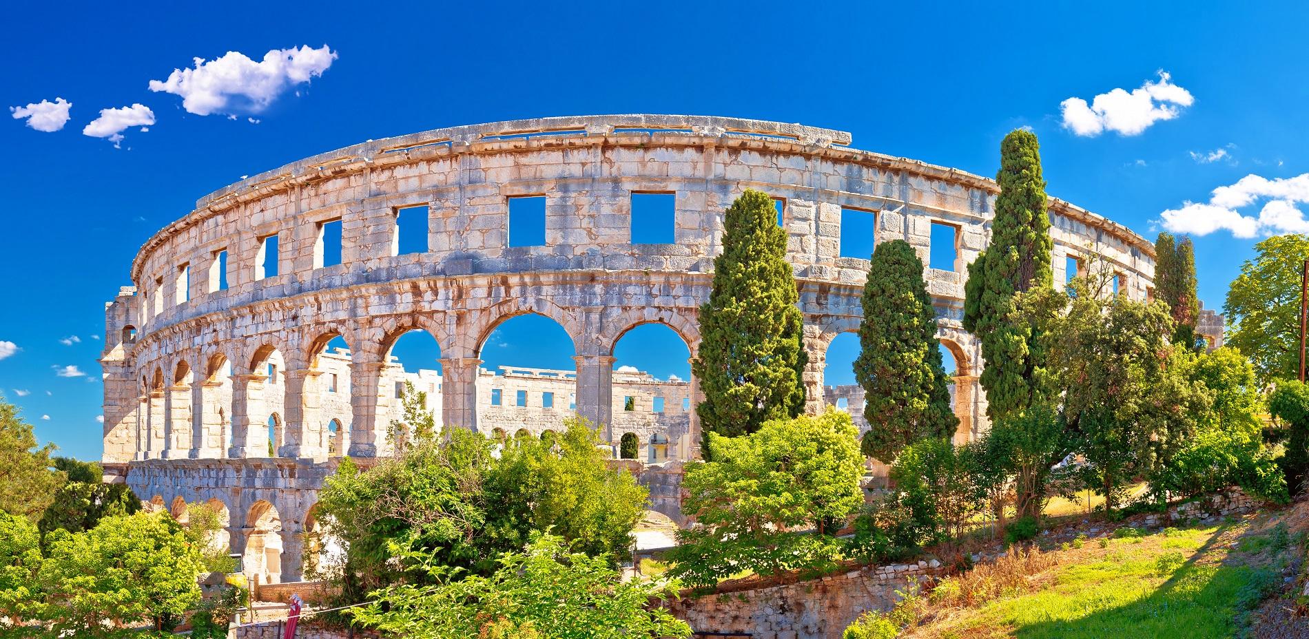 De hoogtepunten van Istrië, Kroatië